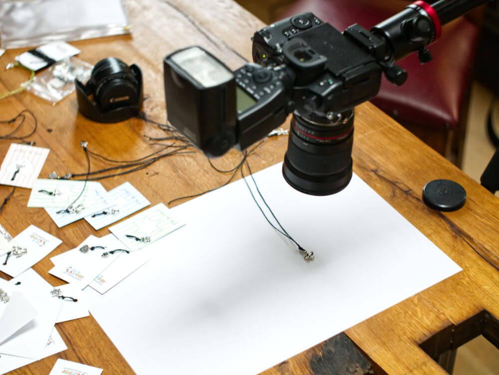 Erstellung von Produktfotos für einen Onlineshop