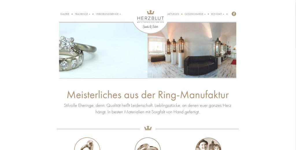 Webdesign, Website Gestaltung Augsburg