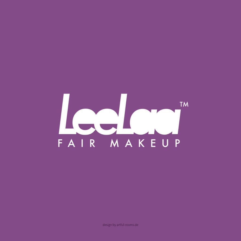 LeeLaa Makeup Logo Corporate Identity Augsburg