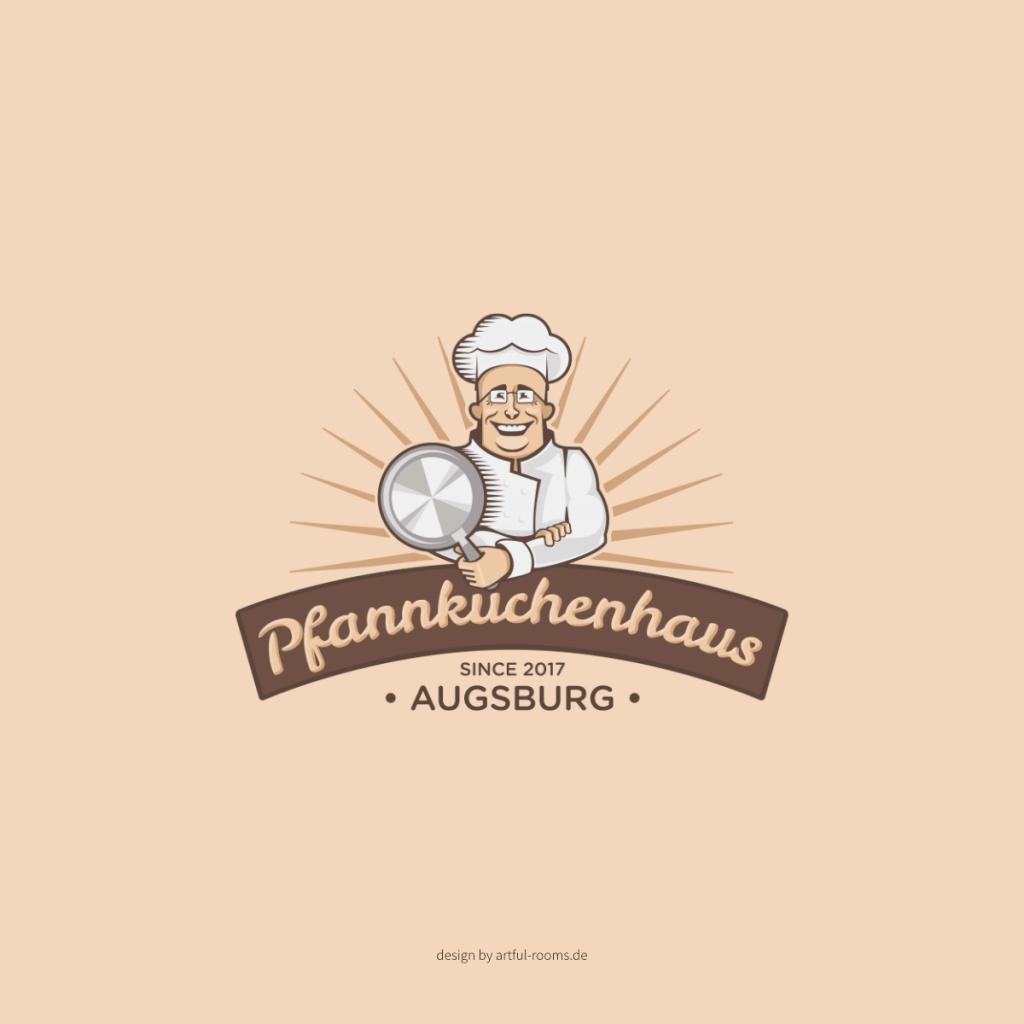 logodesign pfannkuchenhaus augsburg