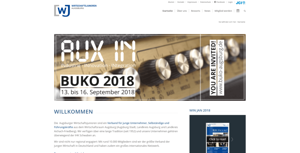 Webdesign Augsburg, Gestaltung Website